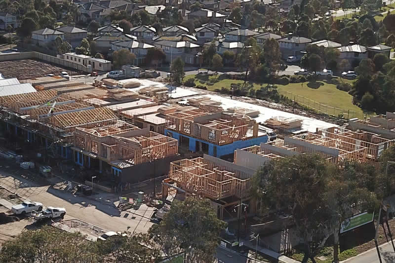 Townhouses preferred for Melbourne's growth areas.